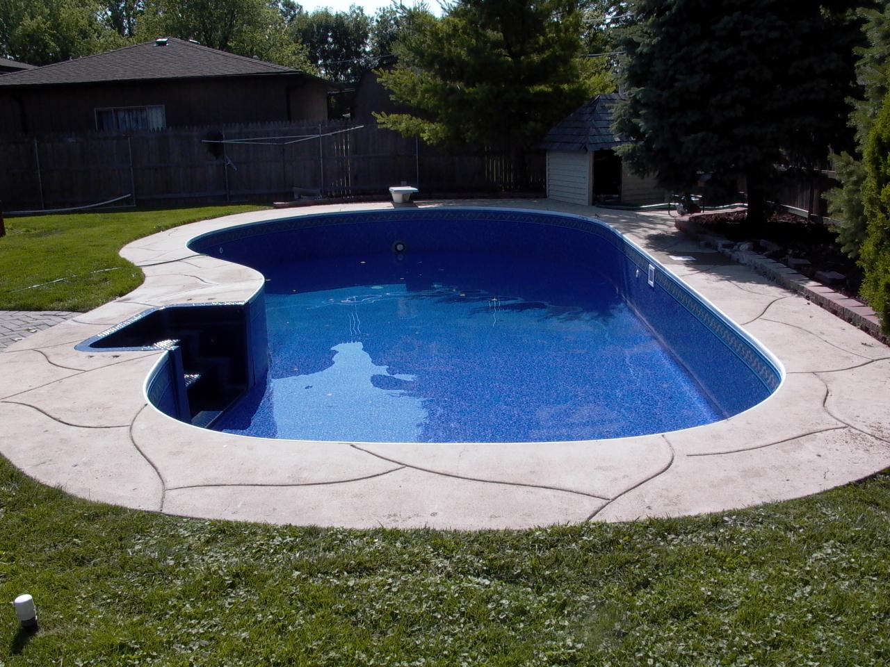 Pools by kure pool renovations for Inground pool coping paint