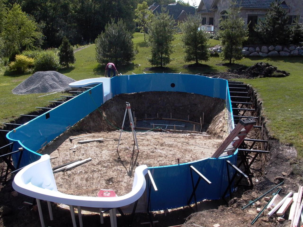 Pools By Kure New Inground Pool Installation