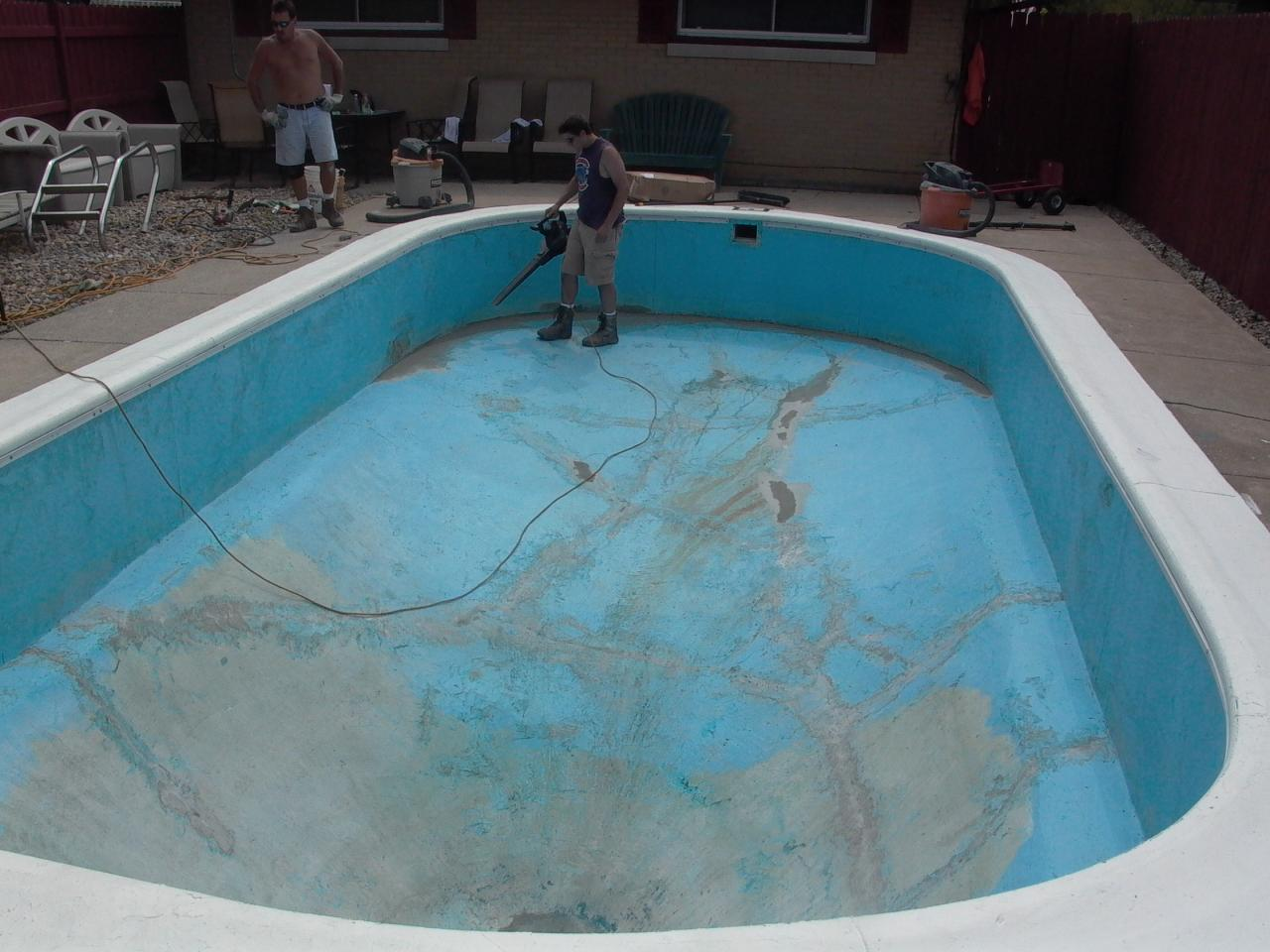 Pools by kure pool renovations for Painting aluminum swimming pool coping
